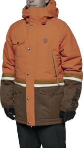 ThirtyTwo SHIFTER Mens Snowboard Jacket Large Burnt Orange NEW