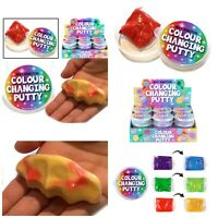 HEAT COLOUR CHANGING PUTTY BOYS GIRLS LOOT PINATA BIRTHDAY PARTY BAG FILLERS