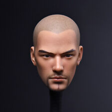 Head Sculpt 1/6th Dou Zhanshen Holy monk beard ver. head Model For Male Body