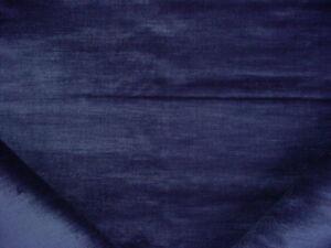 2Y Ralph Lauren LCF66634F Vanderbilt Velvet Sapphire Upholstery Fabric