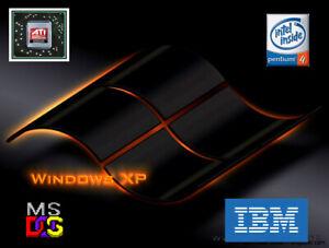 Windows 95 98 XP DOS CUSTOM RETRO Gaming  P4m 1.8 & setup to FLY at max settings