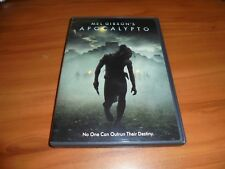 Mel Gibson's Apocalypto (DVD, Widescreen 2007) Used Dalia Hernandez RARE OOP