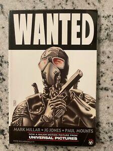 Wanted Top Cow Image Comic Book TPB Graphic Novel Mark Millar JG Jones J591