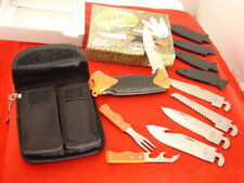 Frost Cutlery Changeable Blade Field Pro Hunting knife Set ld