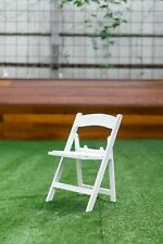 TKO Products Kids White Americana Chair (5 Chairs)