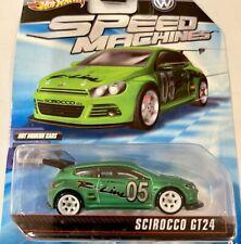 HOT WHEELS Speed Machines VW Scirocco GT24 Green VOLKSWAGEN
