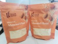 Lot of 2 LBs Good & Gather Blanched Almond Flour Gluten Free Keto Friendly