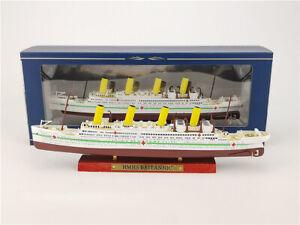 HMHS BRITANNIC 1:1250 diecast model ship ATLAS British Cruise Gift