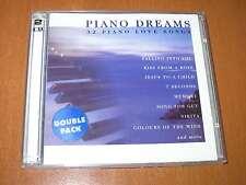 PIANO DREAMS ( 2 CD ) SET 32 PIANO LOVE SONGS ( VERY GOOD EXCELLENT ! )