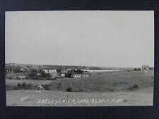 Lake Benton Minnesota Mn Birds Eye Town View Real Photo Postcard Rppc 1940s-50s