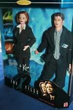 BARBIE AND KEN THE X FILES COLLECTOR EDITON 1998