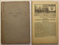 Unsere Heimat Beilage zum Wilsdrufer Anzeige 28. Jhg 1939 Sachsen Geschichte sf
