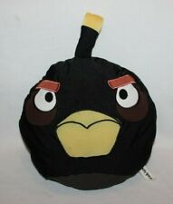 "Angry Birds Black Bomb MicroBead Pillow Plush 12"" Stuffed Animal Toy Cartoon HTF"