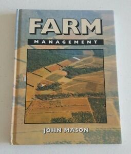 Farm Management by John Mason Hard Cover Agriculture