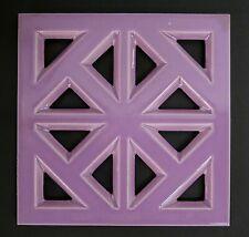Vintage Ventilator Tile Grill Vent MAUVE