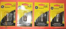 3496--GE---LOT OF 4--Turn Signal Light Bulb-3496/BP
