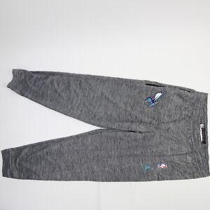Charlotte Hornets Nike Jordan Dri-Fit Athletic Pants Men's Light Gray Used