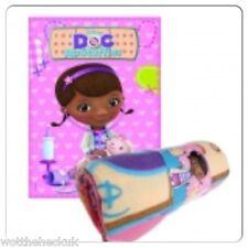 Picnic Disney Junior Doc McStuffins Fleece Blanket Soft Warm Rug Kids Boys Girls Shake Your Stuffing