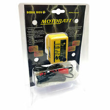 MotoBatt 6V & 12V Baby Boy Battery Charger All AGM, Lead Acid, Calcium, Gel, UK