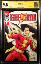 DC Comic SHAZAM #1 CGC SS 9.8 Original Art Sketch MARY MARVEL BATSON BLACK ADAM