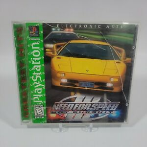 Need for Speed III Hot Pursuit Greatest Hits Sony PlayStation 1 PS1 Complete CIB