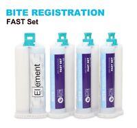Element BITE REGISTRATION FAST Set  50ML Cartridges VPS PVS Dental Impression