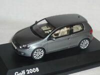 VW Volkswagen Golf 6 VI From 2008 3 Door Gray 1/43 Schuco Model Car Model Car