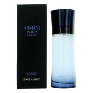Giorgio Armani Code Colonia Pour Homme - 75ml Eau De Toilette Spray.