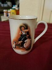 """The Music Maker"" By Norman Rockwell - Hmi 1981 - Coffee Tea Mug"