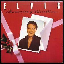 ELVIS PRESLEY MEMORIES OF CHRISTMAS 1982 LP RCA VICTOR CPL1-4395 **HEAR** EX+