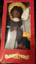shoebox black doll