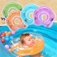 1× Salvagente Gonfiabile da Collo per Bimbi Bambino Baby Piscina Nuotata Nenoati