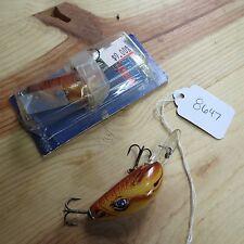 New listing Rebel Humpy Joe Camel fishing lures (lot#8647)