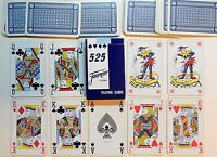 """PLASTIC COATED """"525 FOURNIER VITORIA"""" 54 PLAYING CARDS - p01!"""