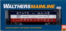HO Scale Walthers MainLine 910-2814 Bangor & Aroostook 6393 50' Insulated Boxcar