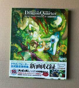 Breath of Fire V 5 Dragon Quarter Official Design Materials Game Art Book