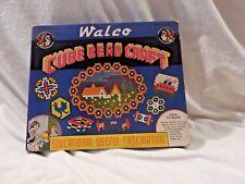 Walco Cube Bead Craft Kit Make Decorative Mats Novelty Curios New 1937