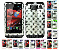 KoolKase Hybrid Cover Case for Motorola Droid Razr Maxx HD XT926m SAINTS Gray