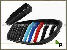 12-16 BMW F06/F12/F13 640i 650i 6-Series Matte Black Front M Color Grille Grill