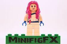 Lego JEWEL Custom Printed Minifig Marvel Superhero Jessica Jones Defenders Alias