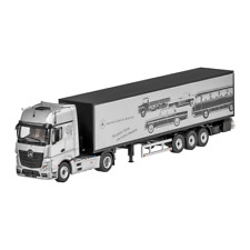 Mercedes Benz Actros FH25 GigaSpace Lorry Silver 1:50 New NZG