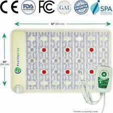 HealthyLine Mat Tourmaline Amethyst Jade Heating Pad PEMF FIR with Photon Light