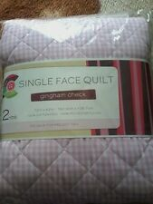 """New Creative Cuts Single Face Quilt Backing & Batting 72"""" x 42"""" 2 Yards pink gin"""