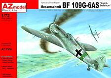 """AZ Models 1/72 Messerschmitt Bf 109G-6AS """"Reich defensa"""" # 7508"""