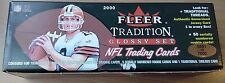 2000 Fleer Tradition Factory Football #5591/7500 Set (TOM BRADY GLOSSY Rookie!)