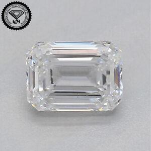 IGI CERTIFIED 1.00 CT. White K Color Emerald Cut Diamond VS1 Clarity D-25