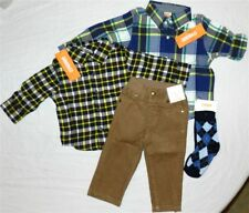 Pant Set Khaki Gymboree Corduroy 5pc Cotton Fall Winter Boy sz 6-12 month New