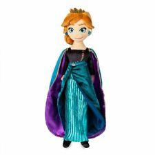 NWT Disney Store Queen Anna Plush Doll  Frozen 2 Medium 18'' NEW