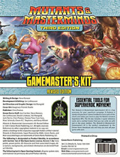 `Mutants And Masterminds Gamemasters Kit, Revised Edition` (US IMPORT) GAME NEW