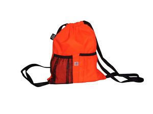 Sky Deluxe Backpack,Cinch Backpack holds water bottle & cellphone Made in USA.